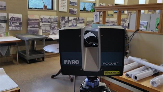 faro focus 3d laser scanning machine