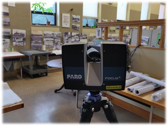 FARO focus S 3d laser scanner