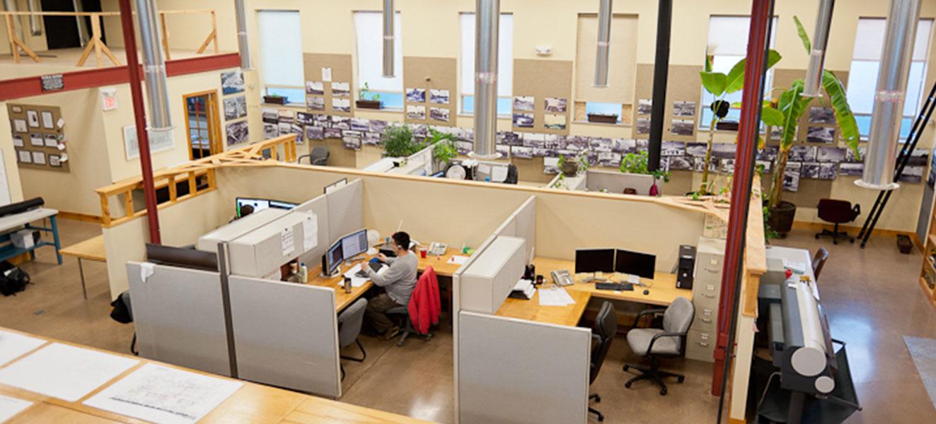 Brandywine CAD office interior