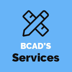 BCAD's services button